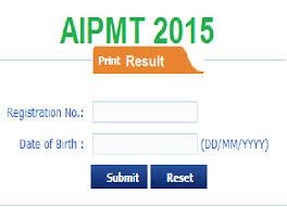 AIPMT Result 2015