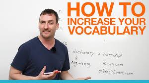 How to Improve English Vocabulary