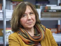 Svetlana Alexievich Nobel Prize Winner