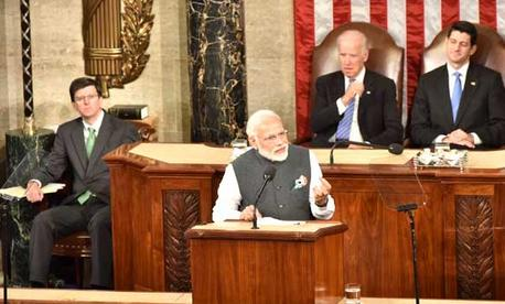 PM Modi Address to US Congress