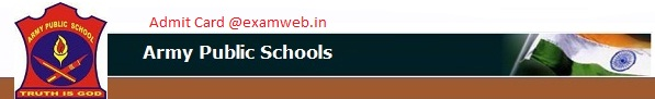 APS AWES Admit Card 2016
