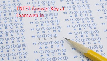 Check TNTET Answer key Result