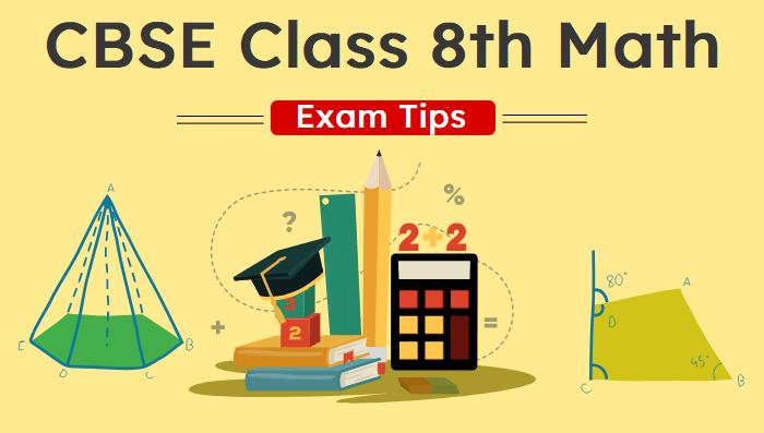 class 8th math preparation tips